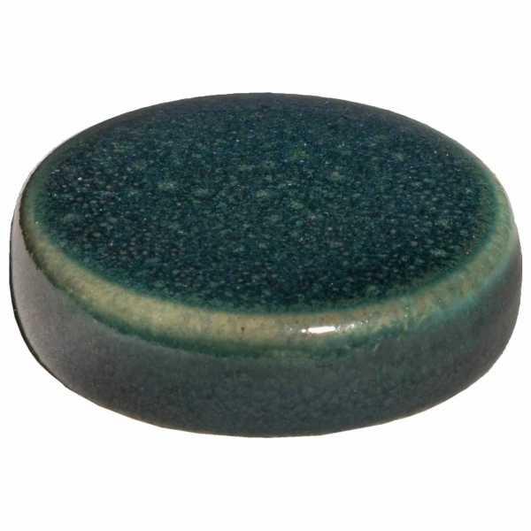 Hentschke Keramik Füsschen Form 004 in effekt-grün