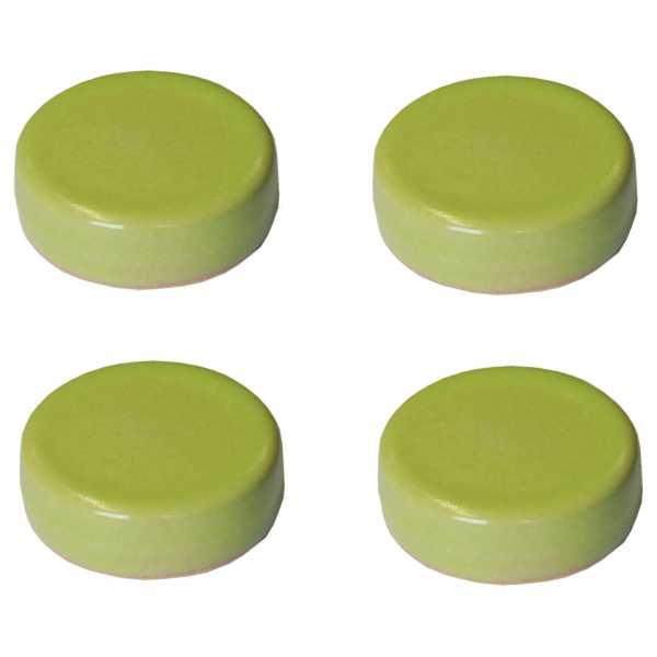 Hentschke Keramik Füsschen Form 004 in lindgrün
