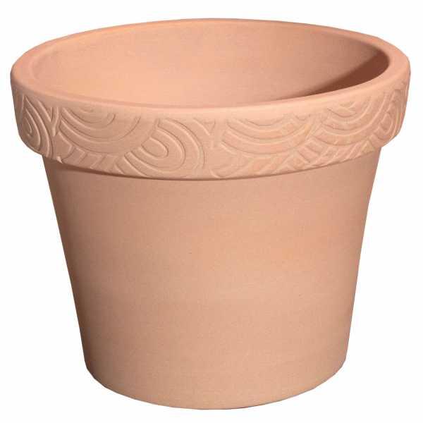Hentschke Keramik Blumentopf Form 126 in terracotta