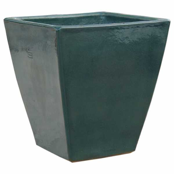 Hentschke Keramik Blumentopf Form 153 in effekt-grün