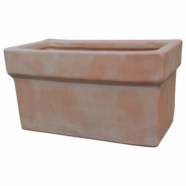 Hentschke Keramik Blumentopf Form 156 in terra-hell