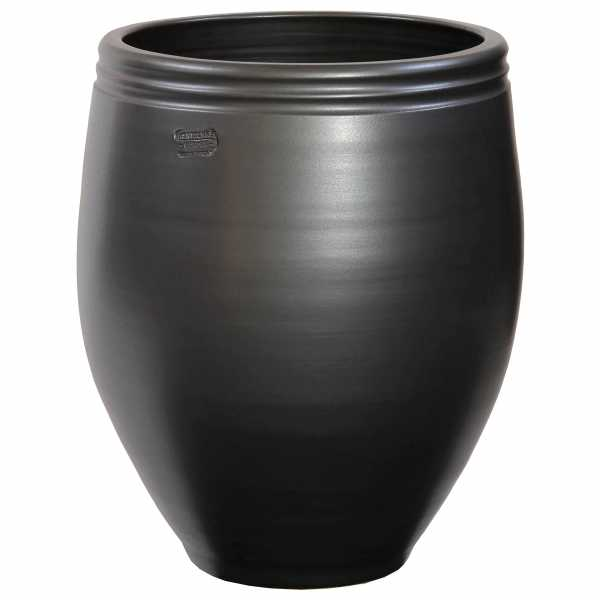 Hentschke Keramik Pflanzkübel VaseForm 371 Farbe anthrazit