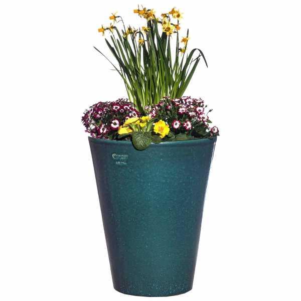 Hentschke Keramik Blumenkübel Form 008 in effekt-grün