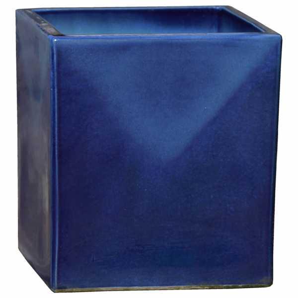 Hentschke Keramik Blumenkübel Form 244 in effekt-blau