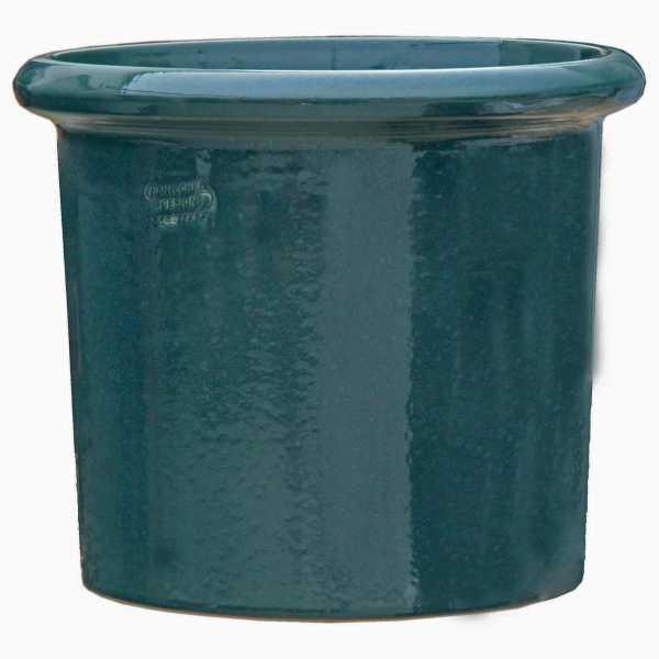 Hentschke Keramik Pflanzkübel Form 112 in effekt-grün