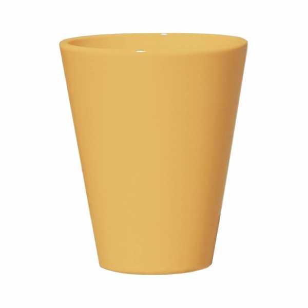 Hentschke Keramik Blumenkübel Form 008 in gelb