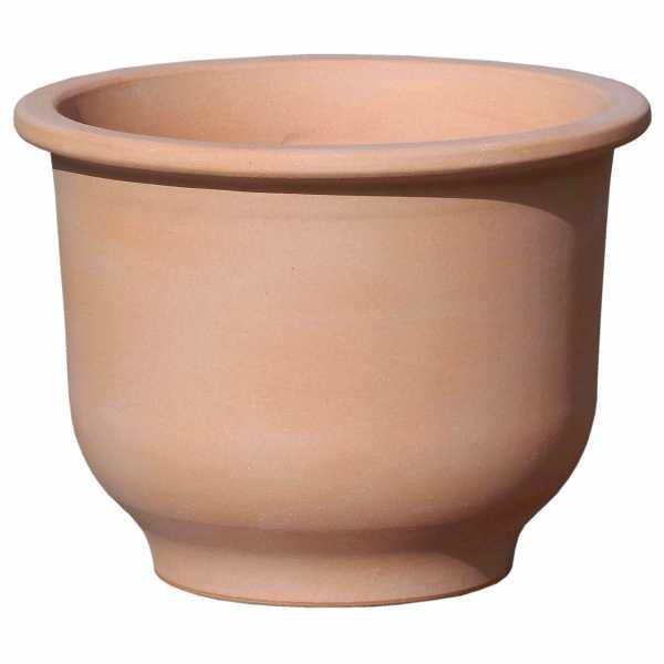 Hentschke Keramik Pflanzkübel Form 366 in terra-hell