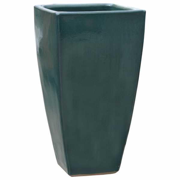 Hentschke Keramik Blumentopf Form 228 in effekt-grün