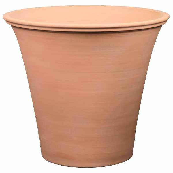 Hentschke Keramik Pflanzkübel Vase Form 389 Farbe terra hell