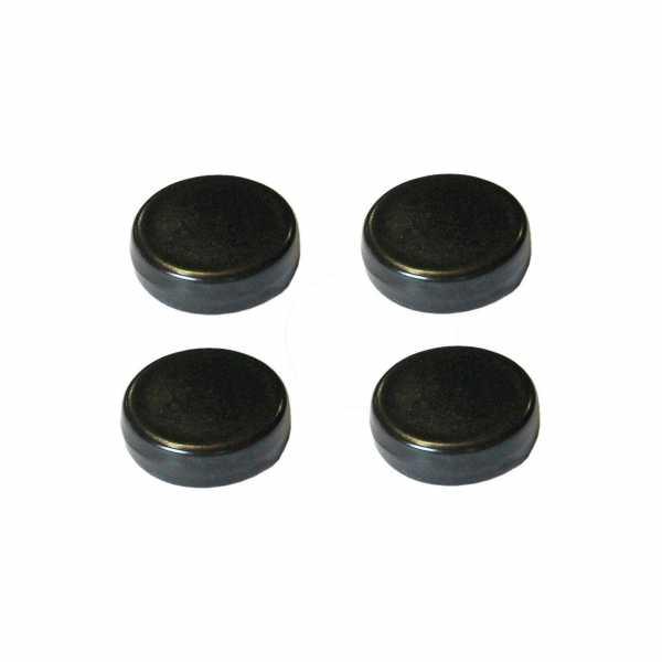 Hentschke Keramik Füsschen Form 004 in schwarz