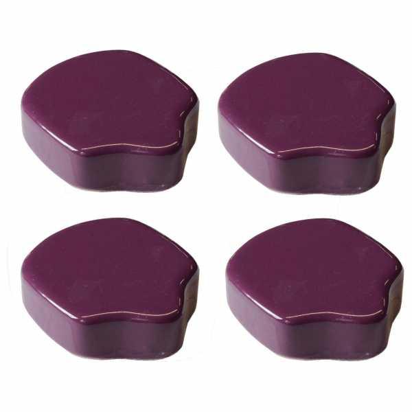 Hentschke Keramik Füsschen Form 004 in fuchsia