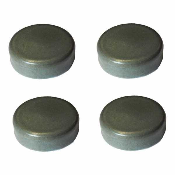 Hentschke Keramik Füsschen Form 004 in tropic-grün