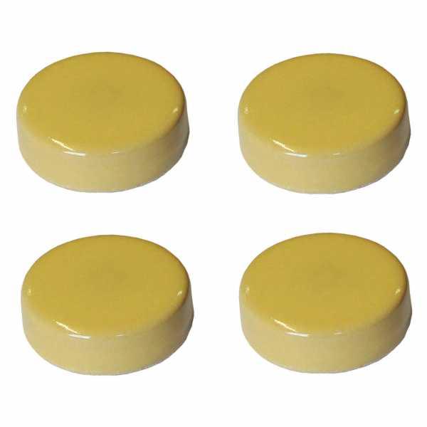 Hentschke Keramik Füsschen Form 004 in gelb
