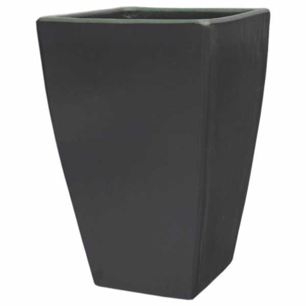 Hentschke Keramik Pflanzkübel Form 154 in anthrazit