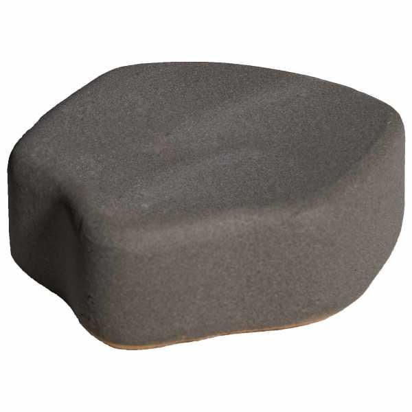 Hentschke Keramik Füsschen Form 004 in schiefer-grau
