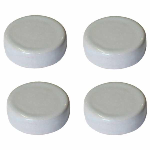 Hentschke Keramik Füsschen Form 004 in silver