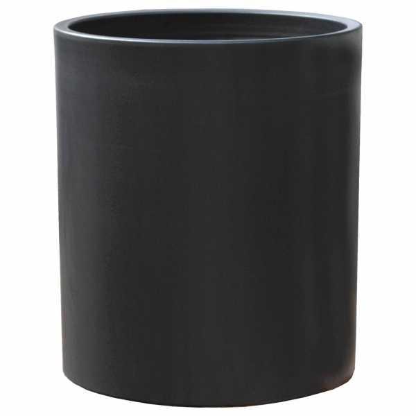 Hentschke Keramik Pflanzgefäß Form 320 in anthrazit