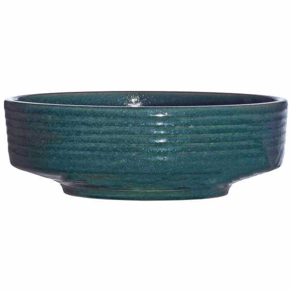 Hentschke Keramik Pflanzschale Form 059 in effekt-grün