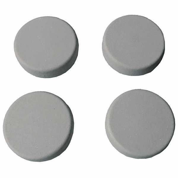 Hentschke Keramik Füsschen Form 004 in samtgrau