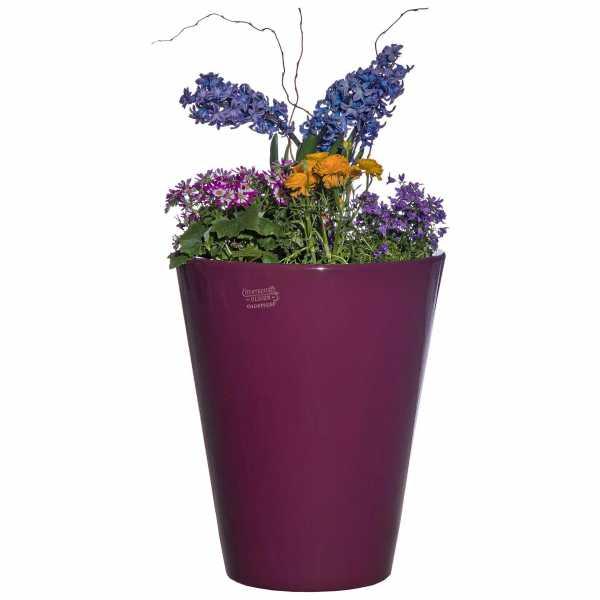 Hentschke Keramik Blumenkübel Form 008 in fuchsia
