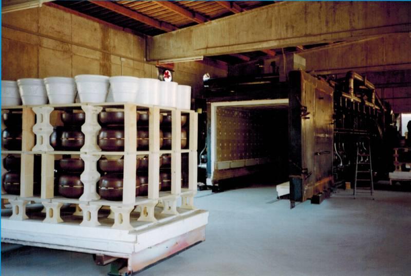 Herdwagenofen bei Hentschke Keramik