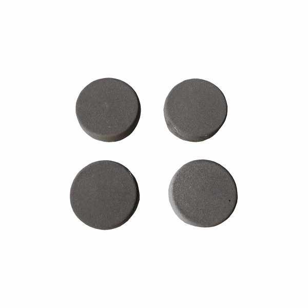 Hentschke Keramik Füsschen Form 004 in rauchgrau