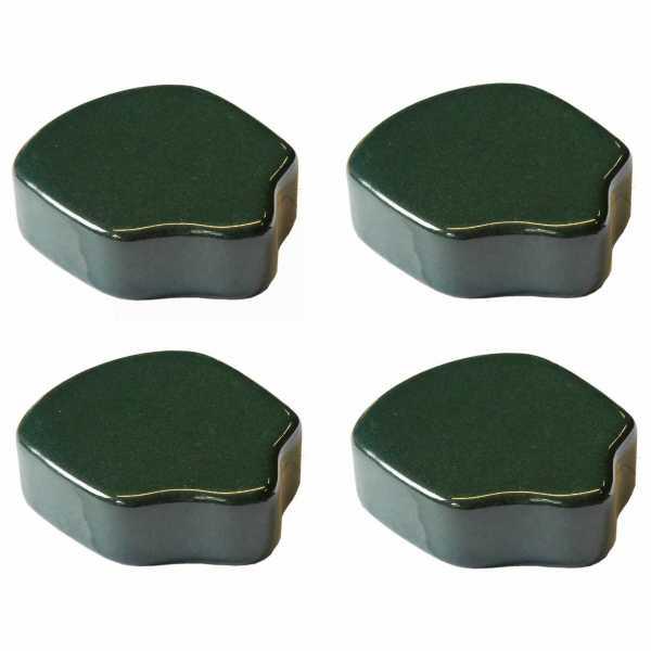Hentschke Keramik Füsschen Form 004 in oliv-grün