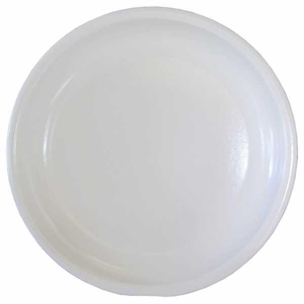 Hentschke Keramik Untersetzer Form 099 in weiß