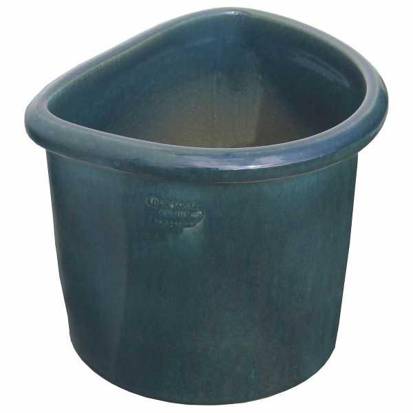 Hentschke Keramik Wandkübel stehend Form 512 Farbe effekt grün