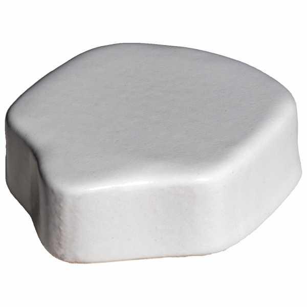 Hentschke Keramik Füsschen Form 004 in weiß