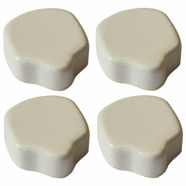 Hentschke Keramik Füsschen Form 004 in elfenbein