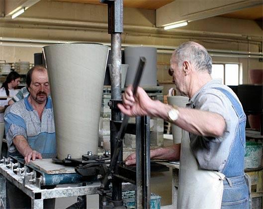 Produktion Formgebung - Hentschke Keramik