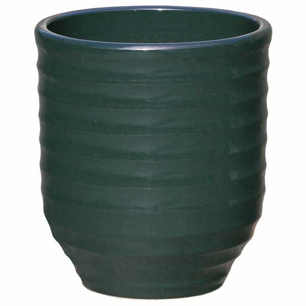 Hentschke Keramik Blumenkübel Form 332 in oliv-grün
