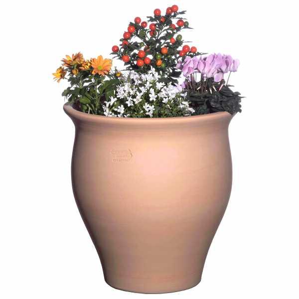 Hentschke Keramik Pflanzkübel Amphore Form 370 Farbe terra hell